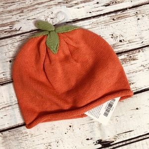 NWT! Gymboree Pumpkin Fall Baby Knitted Hat